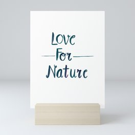 Love for Nature Mini Art Print