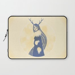 Lady Blue Laptop Sleeve