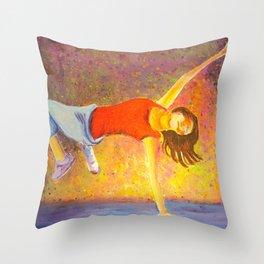 Express Yourself Throw Pillow