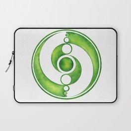 RadialDesignGreen Laptop Sleeve