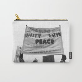 unity, love, peace Carry-All Pouch