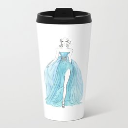 Floating Dress Metal Travel Mug