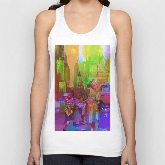 an afternoon with my mom Unisex Tank Top