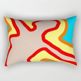 I Broke My Back For You Rectangular Pillow