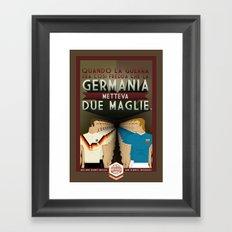 Poster Nostalgica - Germania divisa Framed Art Print