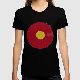 Red Vinyl T-shirt