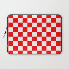 Checker (Red/White) Laptop Sleeve