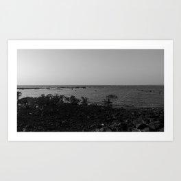 Sea Within A Sea Art Print