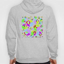 Bubble yellow & purple 10 Hoody