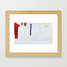 The Rescue I Framed Art Print