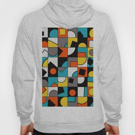 Sunset Shapes - Geometric Abstract Hoody