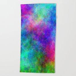 Colorful Magick Beach Towel