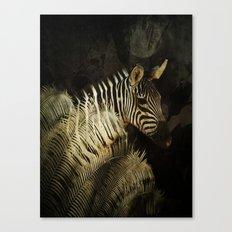 The Zebra Canvas Print