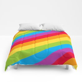 St Patrick's Day Lucky Rainbow Pattern Comforters