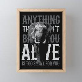 ALIVE Framed Mini Art Print