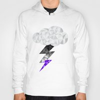 asexual Hoodies featuring Asexual Storm Cloud by Casira Copes