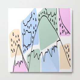 Which Mountain Metal Print