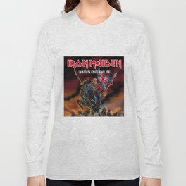 iron maiden england 1988 Long Sleeve T-shirt