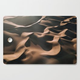 Lovers in the Sand - Aerial Landscape Photography Cutting Board