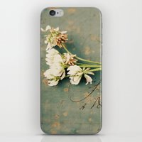 clover iPhone & iPod Skins featuring clover by Beverly LeFevre