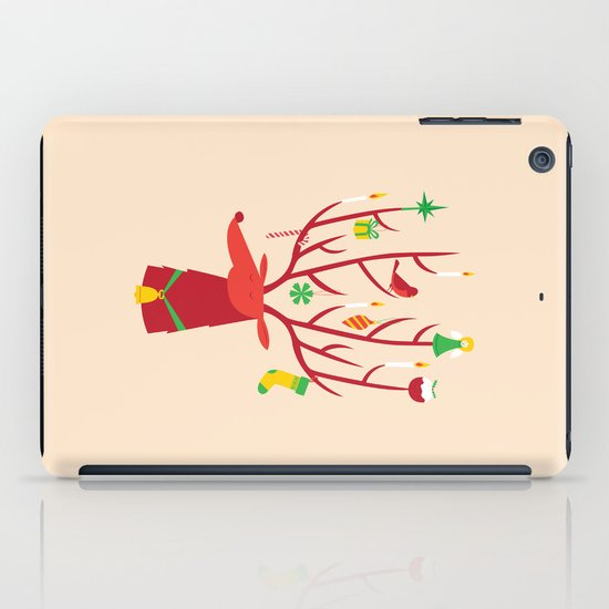 Reindeer iPad Case