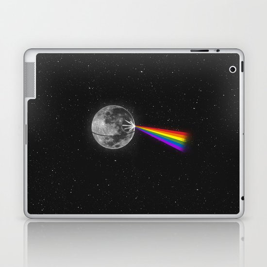 The Dark Side of the Moon Laptop & iPad Skin