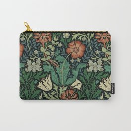William Morris Compton Floral Art Nouveau Pattern Carry-All Pouch
