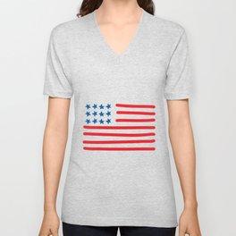 America the Beautiful Unisex V-Neck