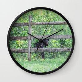 I See a Bear! Wall Clock
