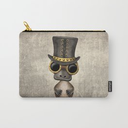 Steampunk Baby Platypus Carry-All Pouch