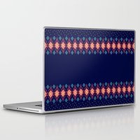 nordic Laptop & iPad Skins featuring Nordic Star by RED ROAD STUDIO