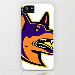 Australian Kelpie Dog Mascot iPhone Case