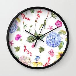 Spring Life Wall Clock