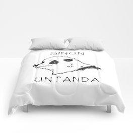 Sinon, un panda (1) Comforters
