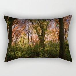 Cyanide burts Rectangular Pillow