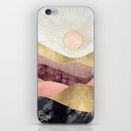 Blush Sun iPhone Skin