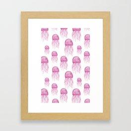 squids squids squids Framed Art Print