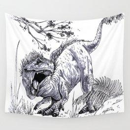 T-Rex Wall Tapestry