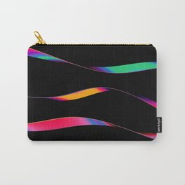 Iridescent Stripes 2 Carry-All Pouch
