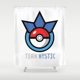 Team Mystic Shower Curtain