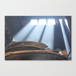 Drepung Monastery Kitchen Window Canvas Print