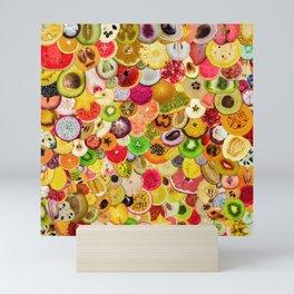 Fruit Madness (All The Fruits) Mini Art Print