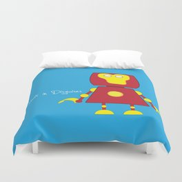 Robots in Disguises Duvet Cover