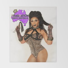 Dragnation SA  - Kween Kong Throw Blanket