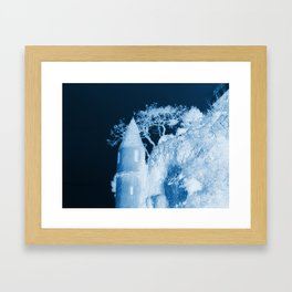 It's a blue day Framed Art Print