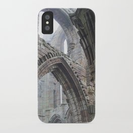 Whitby Abbey in Fog #2 iPhone Case
