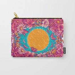 sunset in a lake Carry-All Pouch