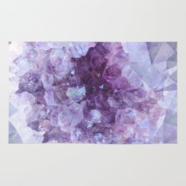 Crystal Gemstone Rug