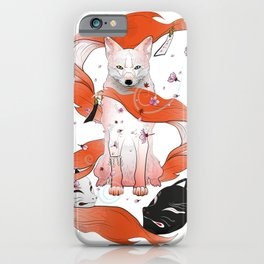 Red Kitsune iPhone Case