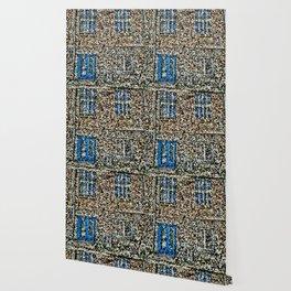 crystalized facade Wallpaper